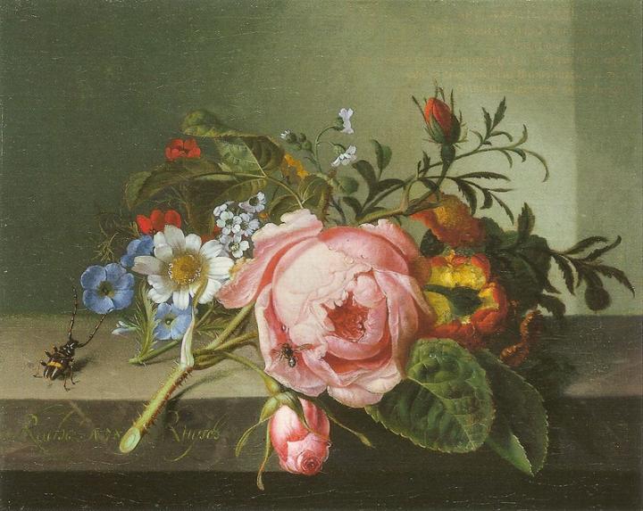 1130px-Ruysch,_Rachel_—_Rosenzweig_mit_Käfer_und_Biene_—_1741