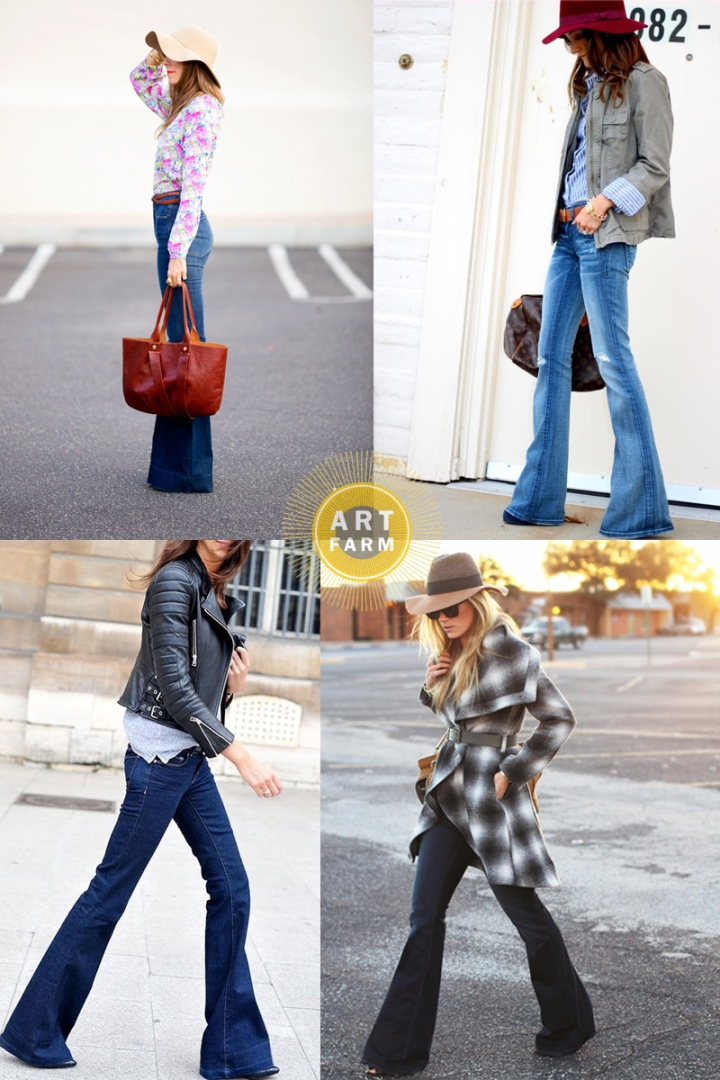 Flare Jeans Collage 2